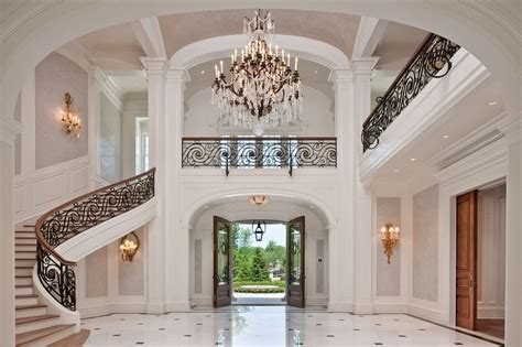 mansion foyer mansion foyer alpine nj foyers n entryways