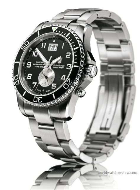 Swiss Army 701 Dual Time For victorinox swiss army maverick gs dual time gmt quartz world review
