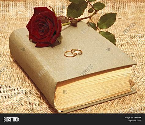 Wedding Bible Images by Bible Wedding Rings Image Photo Bigstock