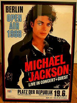 1988 Michael Soaring Starline Poster beautifully framed michael jackson 1988 original bad tour poster http www michael jackson