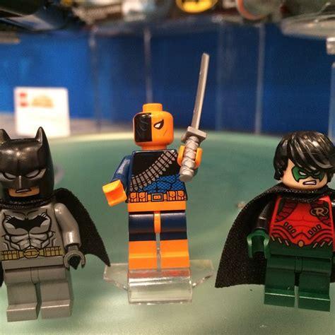 Lego Minifigure Heroes Deathstroke Stroke Weapon lego dc universe deathstroke 2015 minifigure by honoramongscars on deviantart