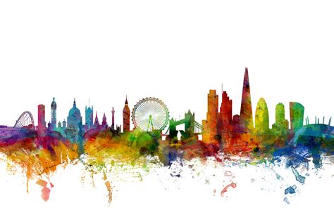 Designer Kitchens Manchester by London Skyline 2 Wall Mural Amp Photo Wallpaper Photowall