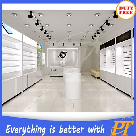 mobile phone shop decoration furniture design for mobile