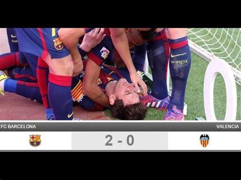cadena ser valencia barcelona fc barcelona 2 valencia 0 liga bbva carrusel deportivo
