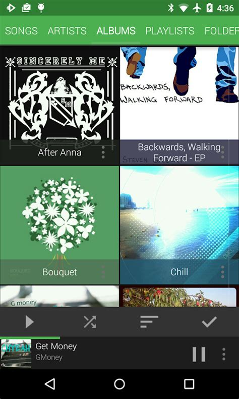 music themes apps material dark green theme android apps on google play