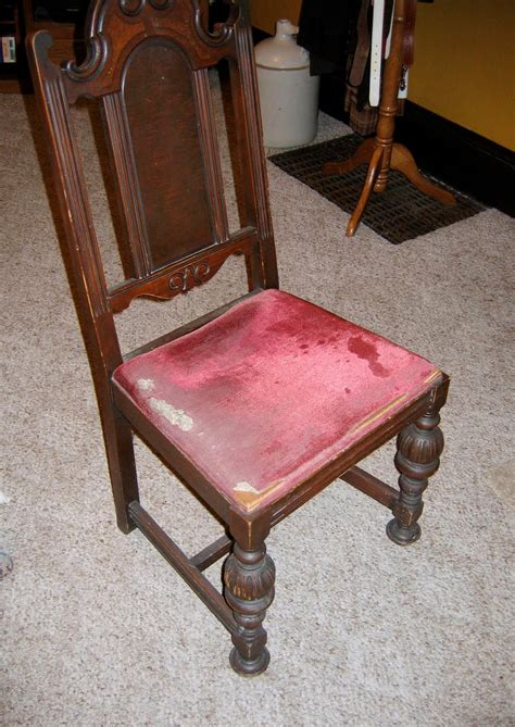 How To Reupholster A Dining Chair Seat How To Reupholster A Chair Seat