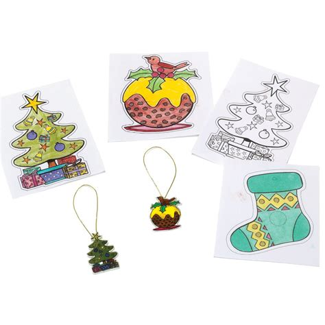 shrinkles christmas magnet decorations 4 pack