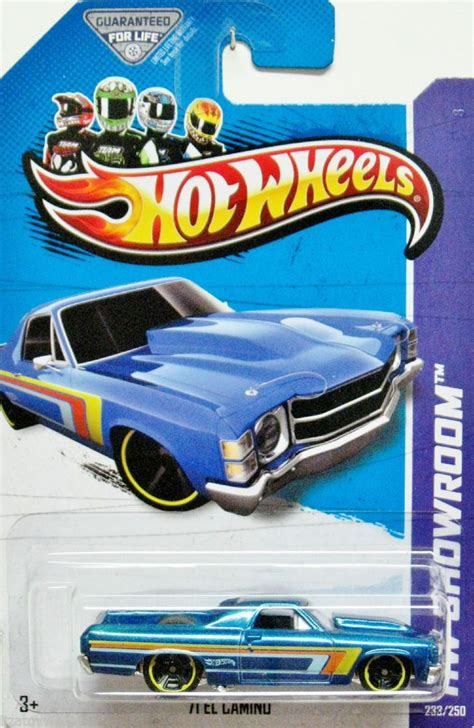 Wheels Hotwheels El Camino 1971 chevy el camino wheels 2013 showroom 233 250