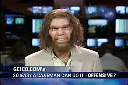 does anyone understand the geico commercial with the two guys pumping iron geico insurance quot cavemen quot to become abc sitcom insurance