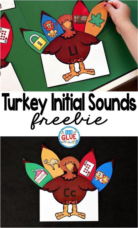 turkey initial sounds initial sounds literacy and