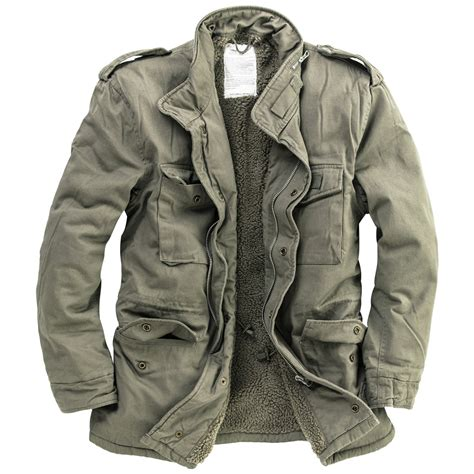 Jaket Winter surplus paratrooper winter mens jacket m65 army