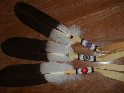 beaded feathers beaded painted beautifully decorated eagle