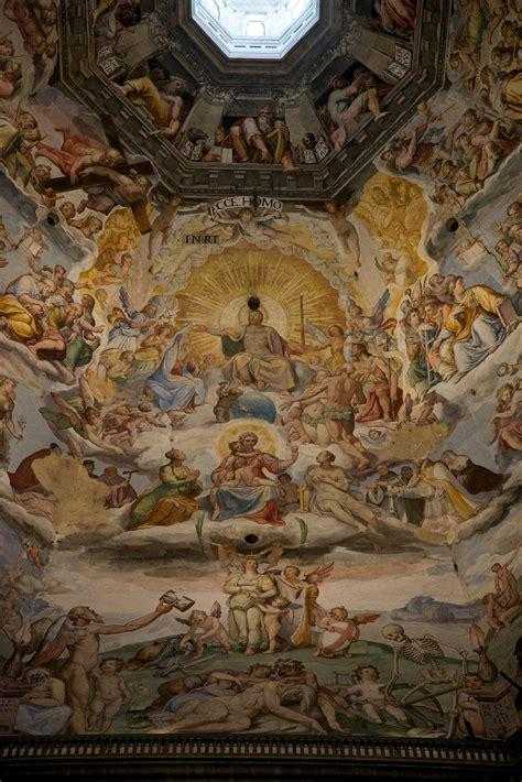 Fresco Ceiling by Duomo Florence Dome Ceiling Fresco