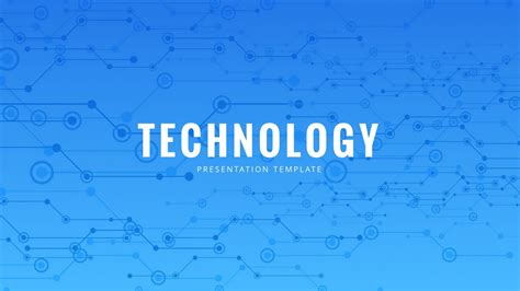 Templates Ppt Technology | technology powerpoint template free powerpoint presentation