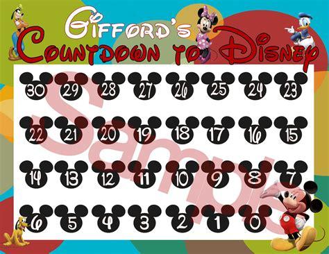 disney countdown calendar printable new calendar