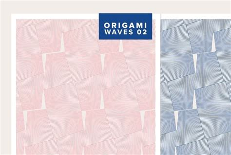 Origami Waves - origami waves 02 graphics youworkforthem