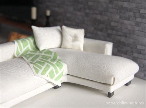 how to make miniature sofa 25 best ideas about barbie furniture on pinterest