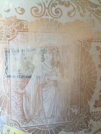 antique victorian door  etched glass muchawoman