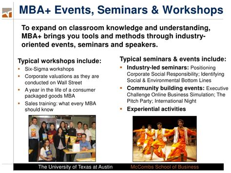 Is An Mba Program All About Partying by Introduction To The Time Mba Program