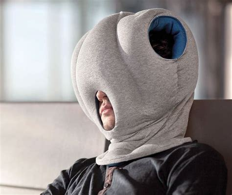 the ostrich pillow somebody invented that