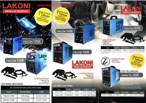 Mesin Las Lakoni tukang mandor pemborong daftar harga mesin las listrik