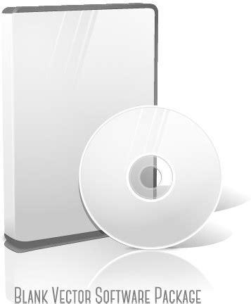 format kotak cd blank cd package box vector template free vector in