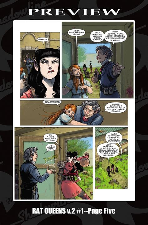libro rat queens 01 preview rat queens 1 by wiebe gieni image
