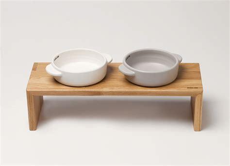 modern bowl modern raised feeders and bowls from bridge dog dog milk