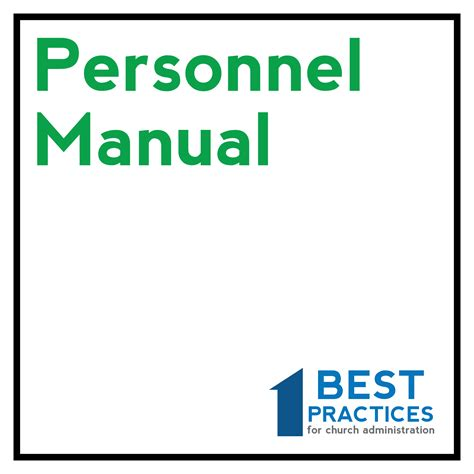 personnel manual template