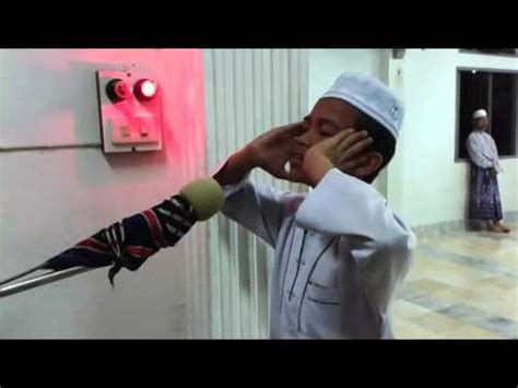 azan imam muda nuri taufek อาซานเด ก เพราะๆ funnycat tv