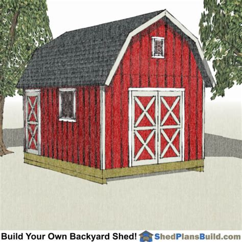 shed plans build  backyard shed