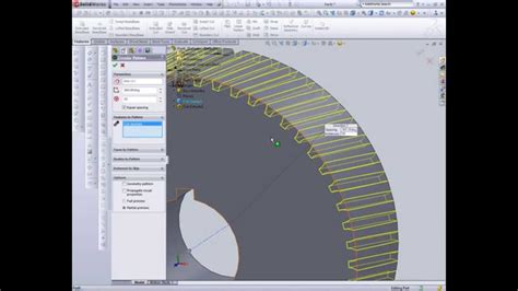 solidworks tutorial helical gear helical gear design in solidworks youtube