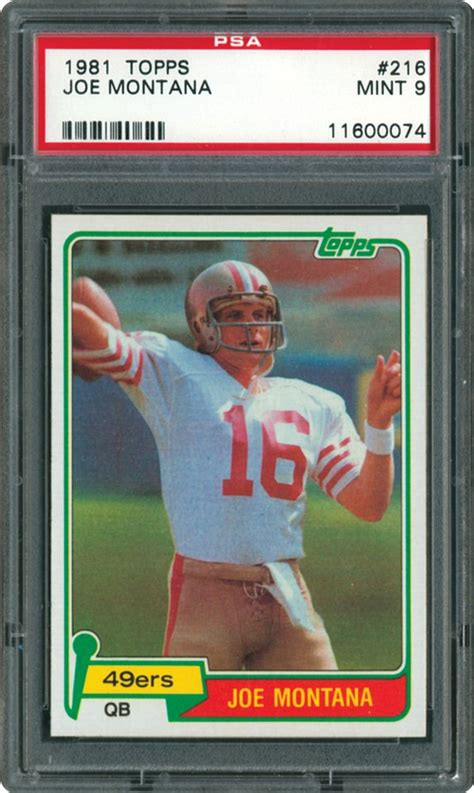 football cards value 1981 topps football cards psa smr price guide