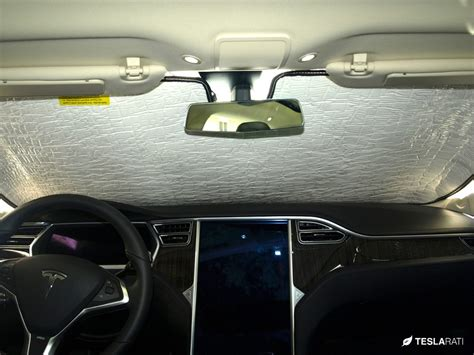 tesla windshield tesla model s custom quot heatshield quot sunshade review
