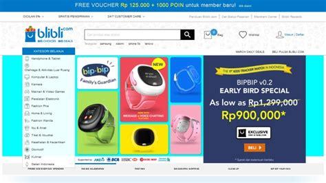 blibli marketplace kumpulan toko online populer di indonesia