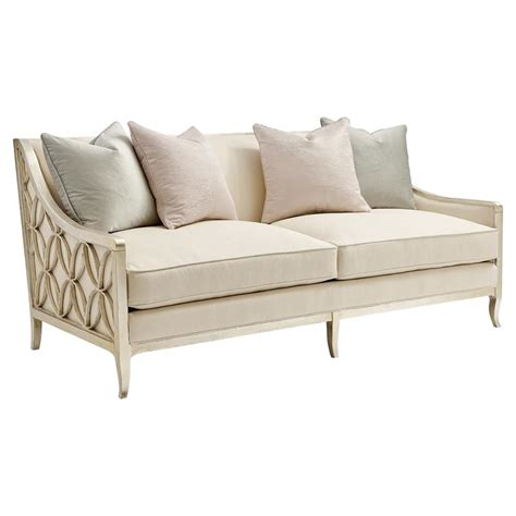ivory couch finnian regency chagne silver fret ivory sofa kathy