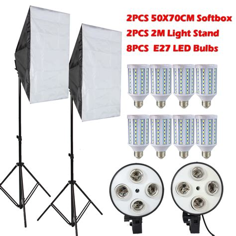 aliexpress com buy ashanks led softbox light stand with