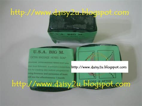 Sabun Usa Slimming daisy2u sabun herba usa breast and slimming murah dan