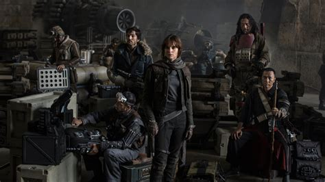 Here's Your First Look at the Star Wars: Rogue One Cast
