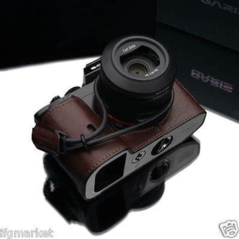 New Gariz Half Sony Xs Cha6000r new gariz sony a7 a7r half wrist set brown for sony a7 sony a7r