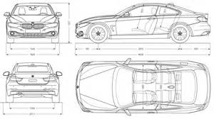 bmw 4 coupe 2013 blueprint free blueprint for