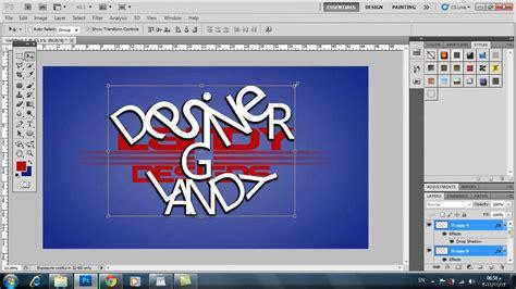 tutorial photoshop cs5 logo photoshop cs5 tutorial how to make your own awesome logo
