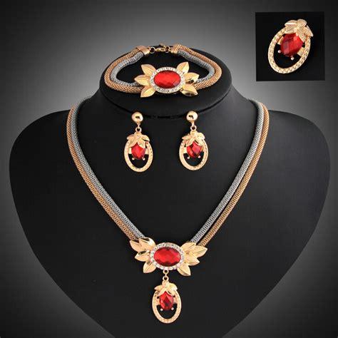 gold plated jewelry sets new fashion wedding