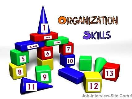 organizational skills organizational skills and competencies what are