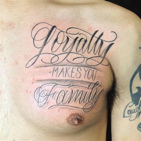 tattoo respect family tattoo respect family loyalty family respect tattoo