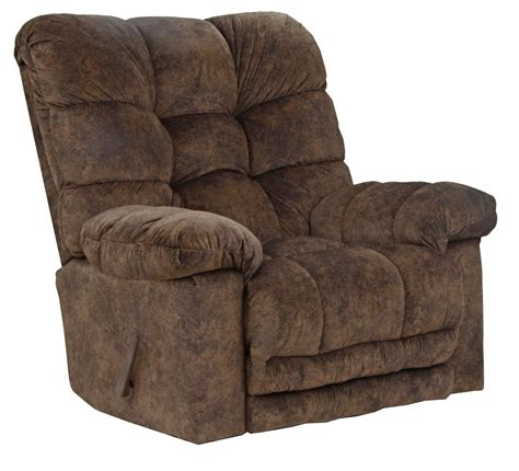 X Rocker Recliner Catnapper Bronson Chaise Rocker Recliner With X Tra Comfort Footrest Chestnut Cn 4690 2