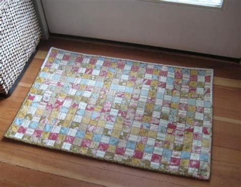 quilt rug woven quilt rug crafts