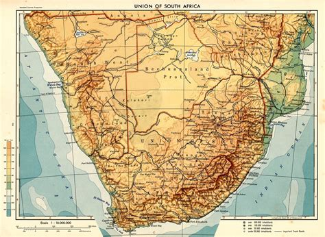 south africa physical map index of country africa south africa maps