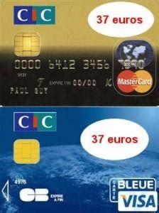 Plafond Cb Visa by Plafond Retrait Carte Visa Cic