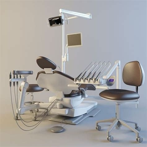 Adec Chair Models - 3d dental chairs cgtrader